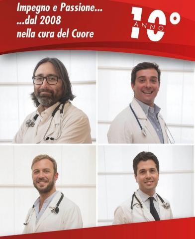 10 anni di Centroromacuore - Centro Cardiologico Roma Cuore